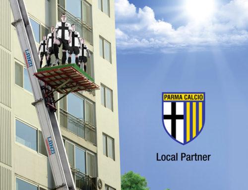 Lanzi Traslochi e Parma Calcio: finalmente insieme.