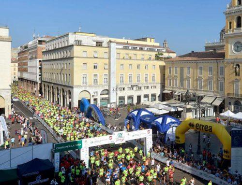 Cariparma Running 2018: Lanzi corre con la città.